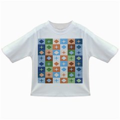 Fabric Textile Textures Cubes Infant/toddler T Shirts