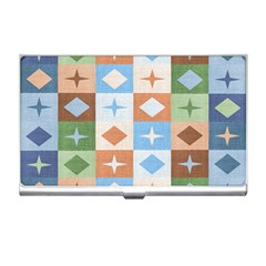 Fabric Textile Textures Cubes Business Card Holders