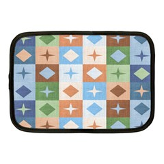 Fabric Textile Textures Cubes Netbook Case (medium)