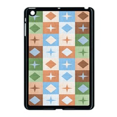 Fabric Textile Textures Cubes Apple Ipad Mini Case (black)