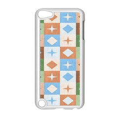 Fabric Textile Textures Cubes Apple Ipod Touch 5 Case (white)