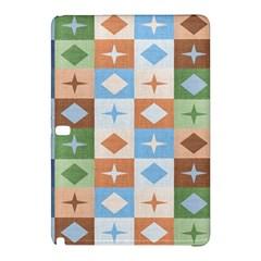 Fabric Textile Textures Cubes Samsung Galaxy Tab Pro 10 1 Hardshell Case