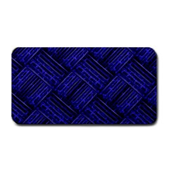 Cobalt Blue Weave Texture Medium Bar Mats