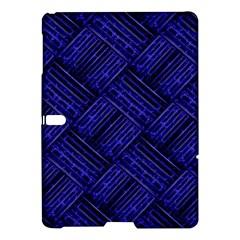 Cobalt Blue Weave Texture Samsung Galaxy Tab S (10 5 ) Hardshell Case