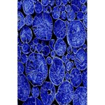 Neon Abstract Cobalt Blue Wood 5.5  x 8.5  Notebooks Front Cover