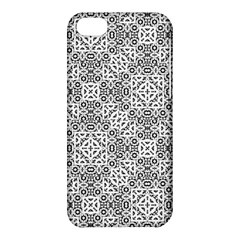 Black And White Oriental Ornate Apple Iphone 5c Hardshell Case by dflcprints