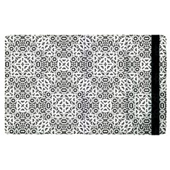 Black And White Oriental Ornate Apple Ipad Pro 9 7   Flip Case by dflcprints