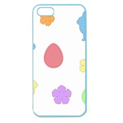 Easter Patches  Apple Seamless Iphone 5 Case (color) by Valentinaart