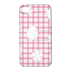 Easter Patches  Apple Iphone 4/4s Hardshell Case With Stand by Valentinaart