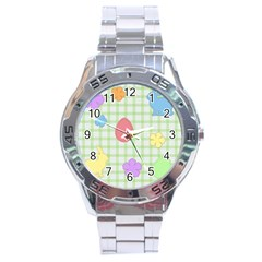Easter Patches  Stainless Steel Analogue Watch by Valentinaart