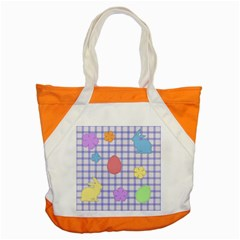 Easter Patches  Accent Tote Bag by Valentinaart