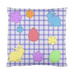 Easter Patches  Standard Cushion Case (one Side) by Valentinaart