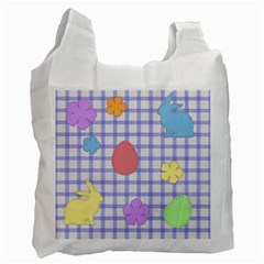 Easter Patches  Recycle Bag (one Side) by Valentinaart