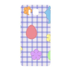 Easter Patches  Samsung Galaxy Alpha Hardshell Back Case by Valentinaart