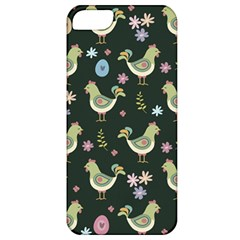 Easter Pattern Apple Iphone 5 Classic Hardshell Case by Valentinaart
