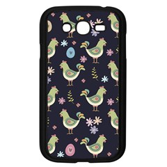 Easter Pattern Samsung Galaxy Grand Duos I9082 Case (black) by Valentinaart