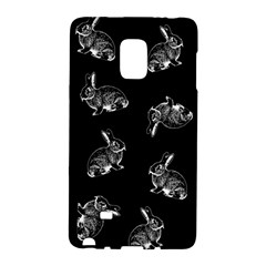 Rabbit Pattern Galaxy Note Edge by Valentinaart