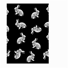 Rabbit Pattern Large Garden Flag (two Sides) by Valentinaart