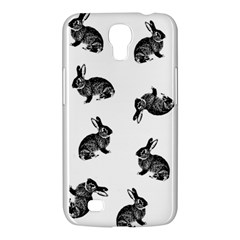 Rabbit Pattern Samsung Galaxy Mega 6 3  I9200 Hardshell Case by Valentinaart