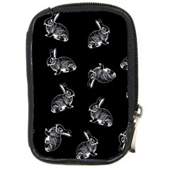 Rabbit Pattern Compact Camera Cases by Valentinaart