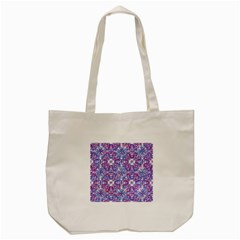 Cracked Oriental Ornate Pattern Tote Bag (cream) by dflcprints