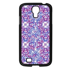 Cracked Oriental Ornate Pattern Samsung Galaxy S4 I9500/ I9505 Case (black) by dflcprints