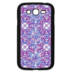 Cracked Oriental Ornate Pattern Samsung Galaxy Grand Duos I9082 Case (black) by dflcprints