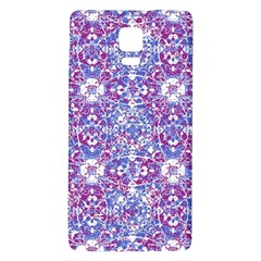 Cracked Oriental Ornate Pattern Galaxy Note 4 Back Case by dflcprints