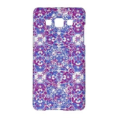 Cracked Oriental Ornate Pattern Samsung Galaxy A5 Hardshell Case  by dflcprints