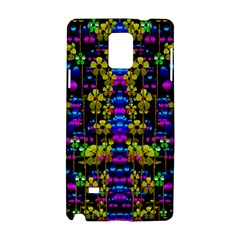 Flowers In The Most Beautiful  Dark Samsung Galaxy Note 4 Hardshell Case by pepitasart