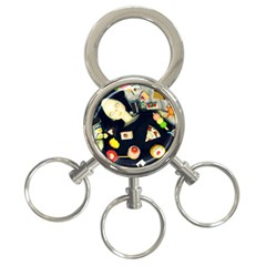 Food 3 Ring Key Chains by snowwhitegirl