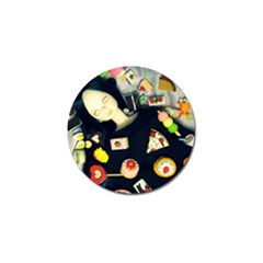 Food Golf Ball Marker (10 Pack) by snowwhitegirl