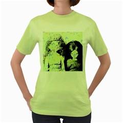 Mint Wall Women s Green T-Shirt