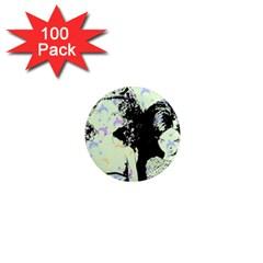 Mint Wall 1  Mini Magnets (100 pack)