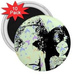 Mint Wall 3  Magnets (10 Pack)  by snowwhitegirl