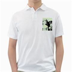 Mint Wall Golf Shirts