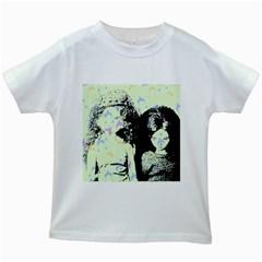 Mint Wall Kids White T-Shirts