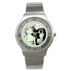 Mint Wall Stainless Steel Watch