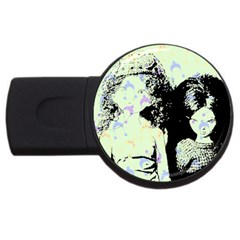 Mint Wall USB Flash Drive Round (4 GB)