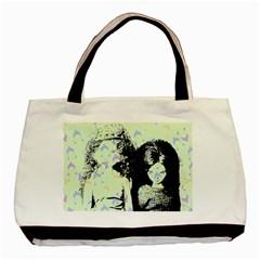 Mint Wall Basic Tote Bag