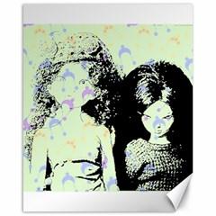 Mint Wall Canvas 16  x 20