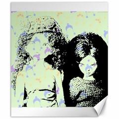 Mint Wall Canvas 20  x 24