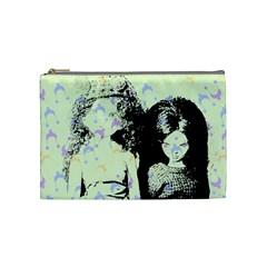 Mint Wall Cosmetic Bag (Medium)