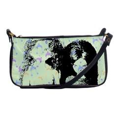 Mint Wall Shoulder Clutch Bags