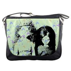 Mint Wall Messenger Bags