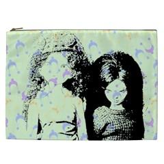 Mint Wall Cosmetic Bag (XXL)