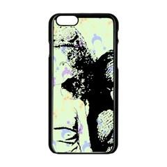 Mint Wall Apple iPhone 6/6S Black Enamel Case