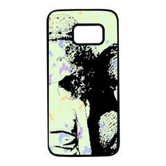 Mint Wall Samsung Galaxy S7 Black Seamless Case by snowwhitegirl