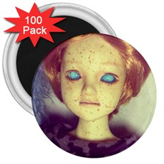 Freckley Boy 3  Magnets (100 Pack) by snowwhitegirl