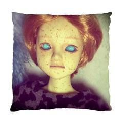 Freckley Boy Standard Cushion Case (one Side) by snowwhitegirl